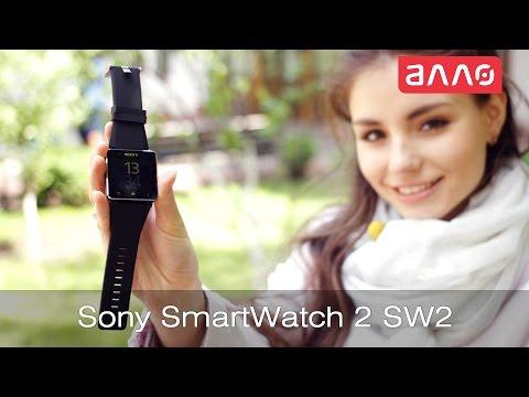 Видео-обзор смарт-часов Sony SmartWatch 2 SW2