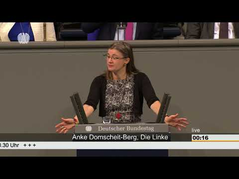 Anke Domscheit-Berg, DIE LINKE: Digitalisierung muss schneller gehen - gemeinwohlorientiert & sozial