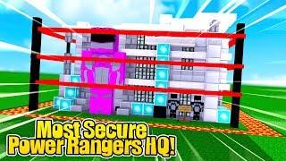 MOST SECURE / SECRET POWER RANGERS BASE CHALLENGE w/TinyTurtle