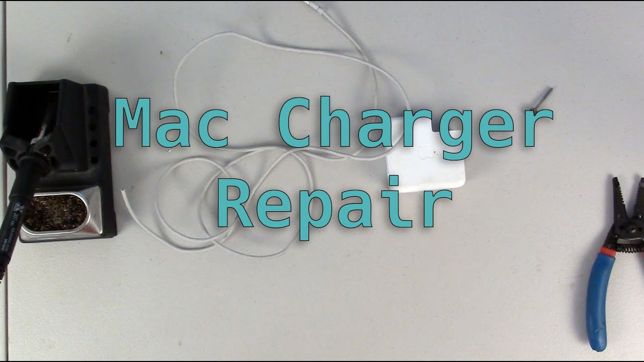 Macbook Charger Repair - YouTube