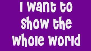 Ashley Tisdale Suddenly with lyrics