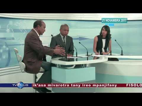 VAOVAO DU 21 NOVEMBRE 2017 BY TV PLUS MADAGASCAR