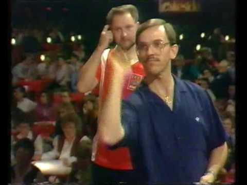 Darts World Championship 1991 Round 1 Burden vs Sinnaeve