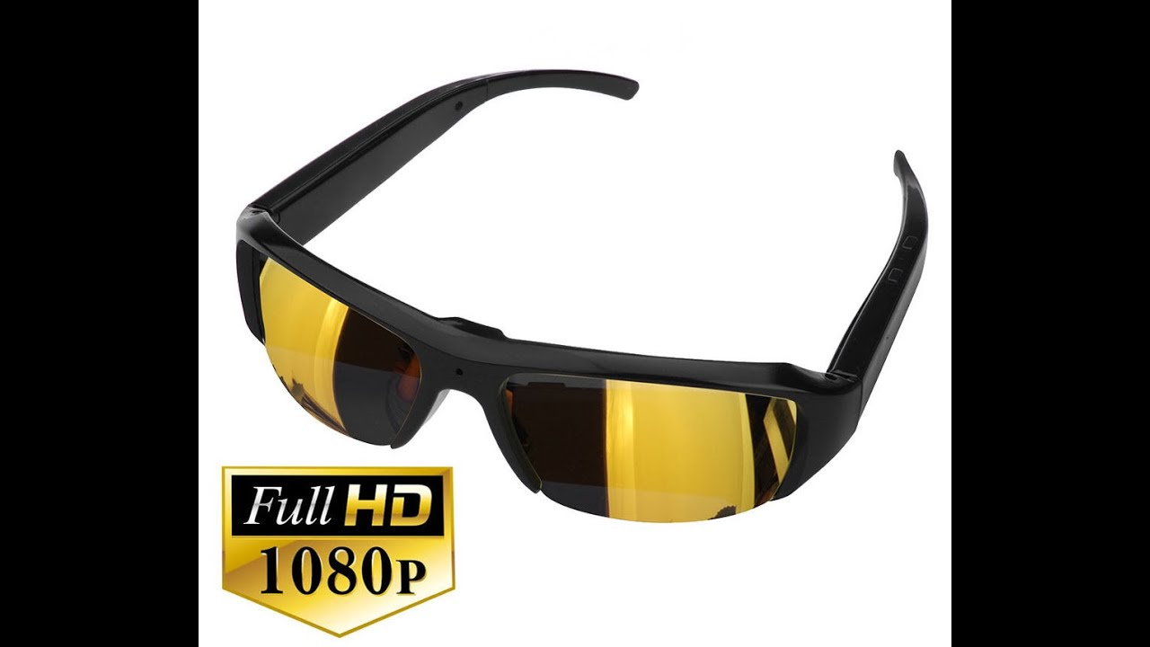 584e34949 Oculos de Sol com Micro Camera Embutida - Oculos Espiao - YouTube