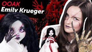 Emily Krueger OOAK (Эмили Крюгер ООАК, дочь Фредди Крюгера), обзор на Halloween/Хэллоуин