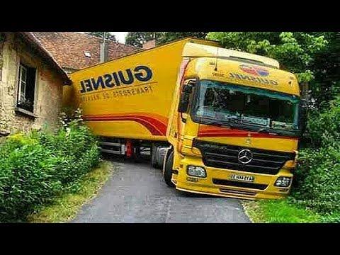 Dünyadaki En Yetenekli Tır Şoförleri -...