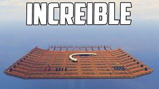 INCREIBLE! SI CAES PIERDES!! - DEMOLITION DERBY GTA V ONLINE PS4