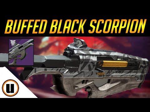 ITS AMAZING NOW!!!   Buffed Black Scorpion SR4 / Scout Rifle Buff    Destiny 2 Black Armory thumbnail