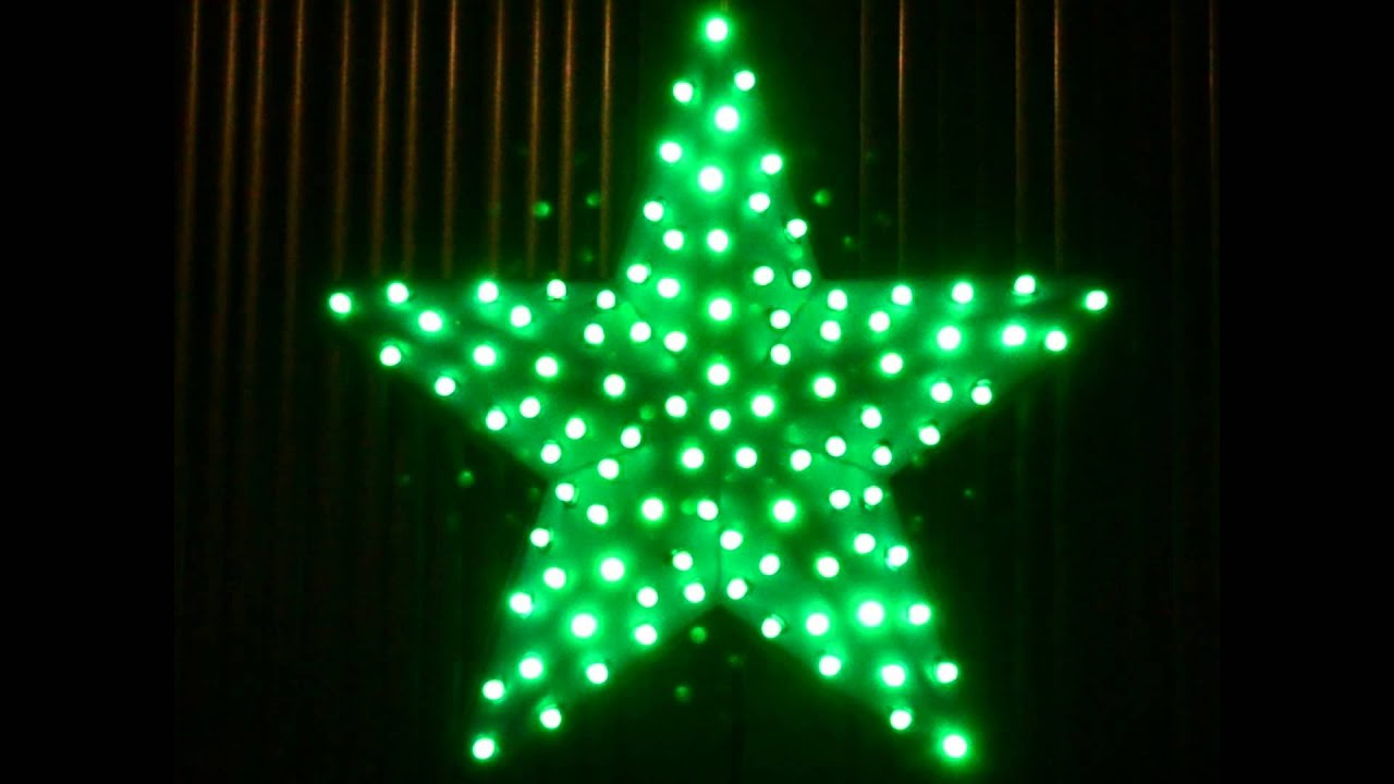 Led Star 101 Rgb Led Chaser Controlled By An Arduino And