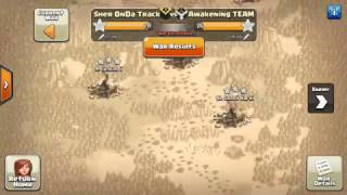 Clash Of Clans (Perfect War Attack With Perfect Combination Of Troops)