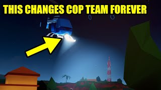 This NEW FEATURE may CHANGE COP TEAM FOREVER... | Roblox Jailbreak