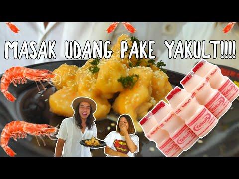 Experiment!!! Masak Udang Pake YAKULT!! ft.Farida Nurhan