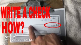 ✅ How To Wrİte A Check Correctly 🔴