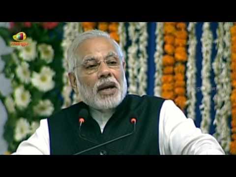 PM Modi Speech At Foundation Stone Ceremony Of Gandhinagar Railway Station In Gujarat | Mango News