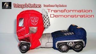 Softimus Prime Transformation Demonstration -- Yotsuya's Reviews