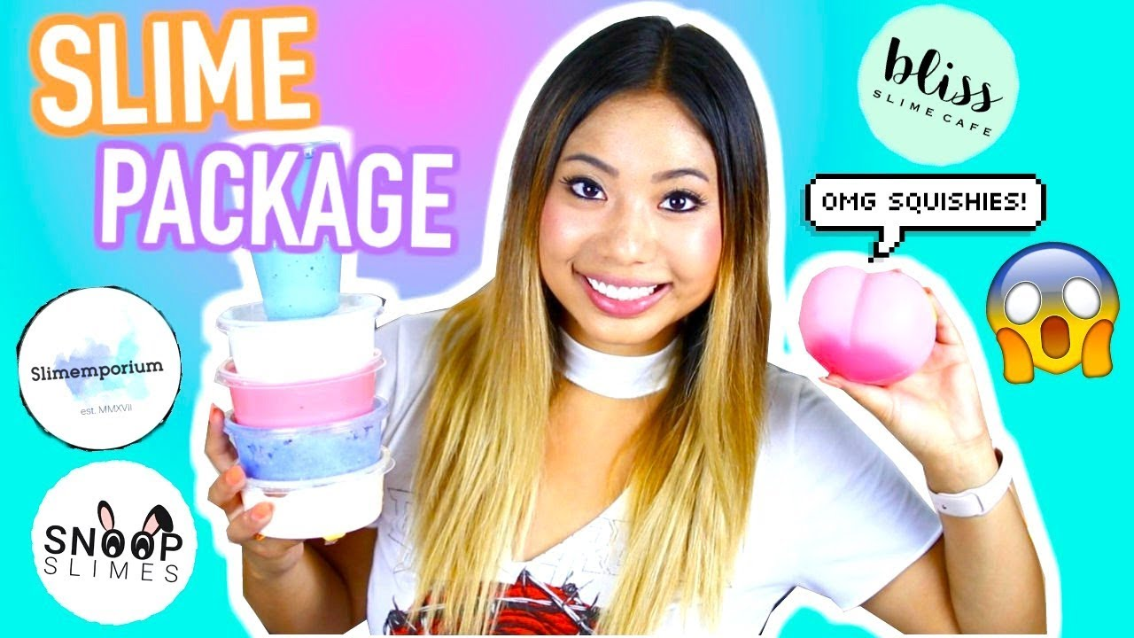 SLIME PACKAGE UNBOXING from FAMOUS Etsy Shops!