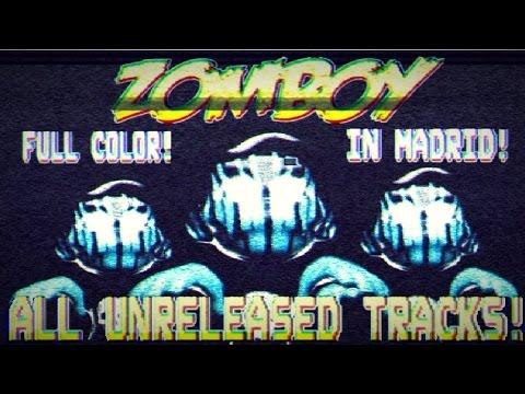 Zomboy ALL UNRELEASED SONGS (Resurrected) 2015 | Madrid #ZomboyZoo