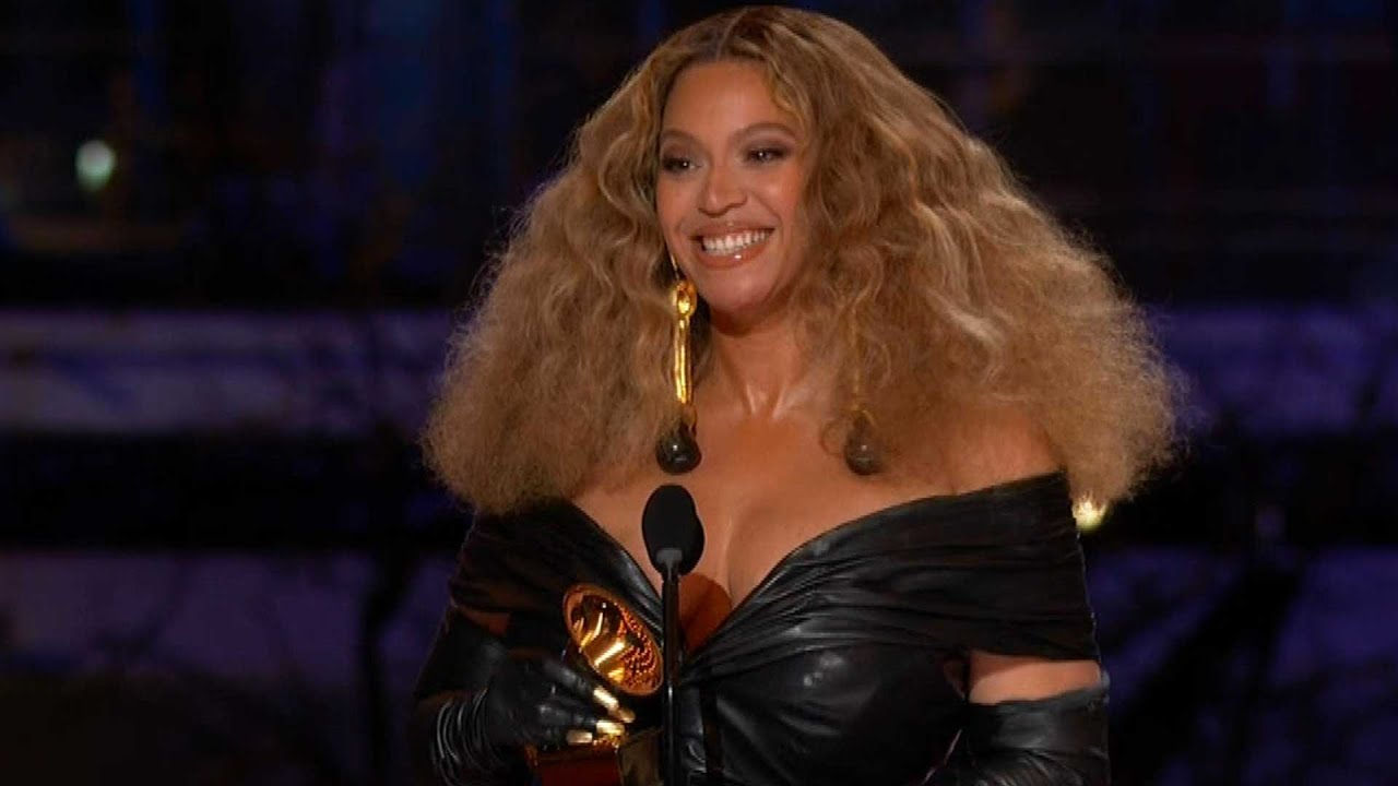 Beyonce and daughter Blue Ivy Carter make history at the 63rd ...