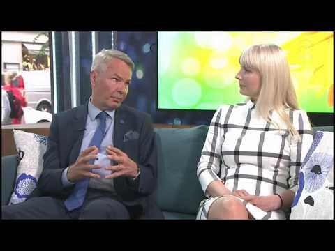 Huomenta suomi: Pekka Haavisto ja Laura Huhtasaari maahanmuutosta
