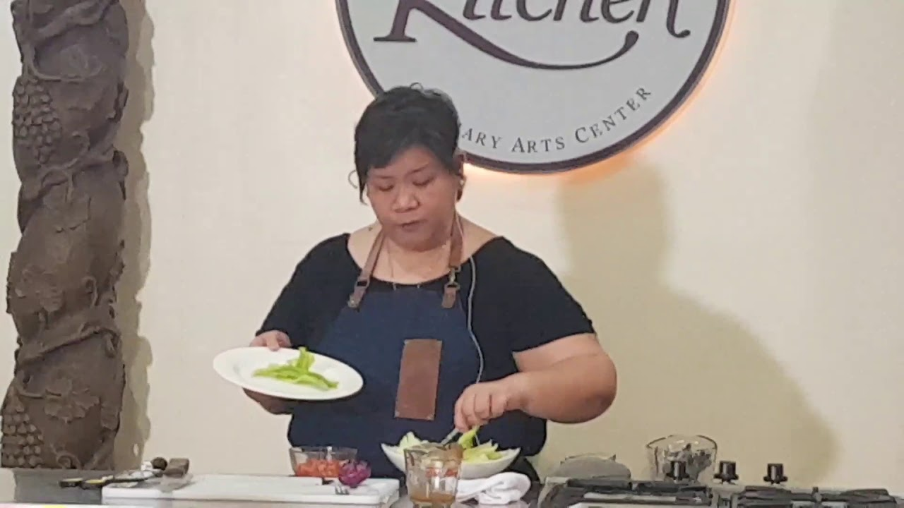 Chef Mira Angeles of Spell Kitchen at The Maya Kitchen - YouTube