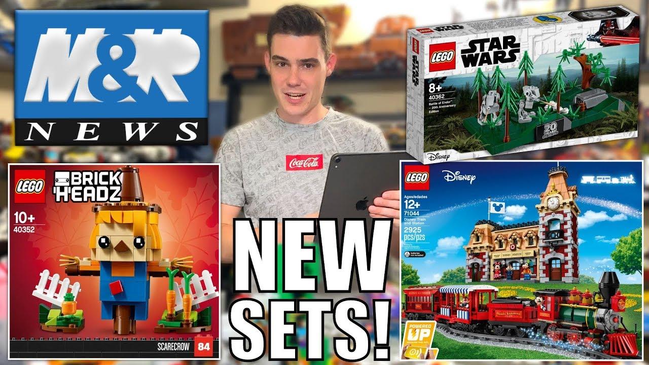 NEW LEGO Disney Train! LEGO SCARECROW! NEW LEGO Star Wars Promos! | LEGO NEWS!