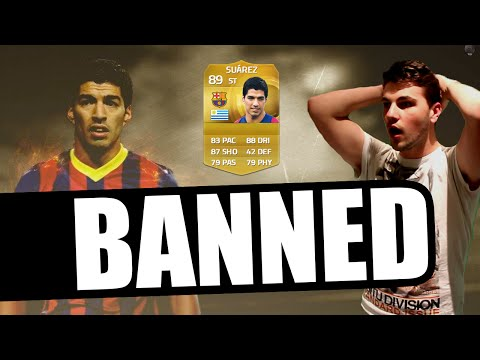 LUIS SUAREZ IS BANNED IN FIFA 15!