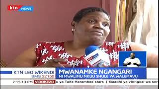 Mwanamke ambaye ulemavu hujamzuia kuwa mwalimu mkuu | Mwanamke Ngangari