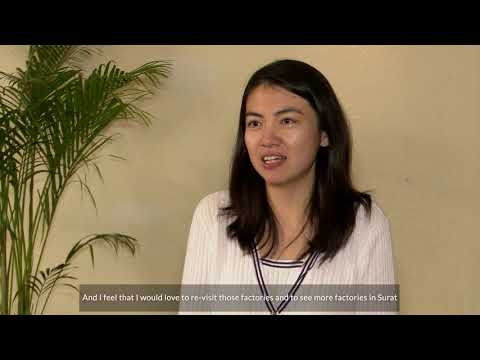 Yanzhen Lu's experience at Rapaport Surat Trade Mission 2020