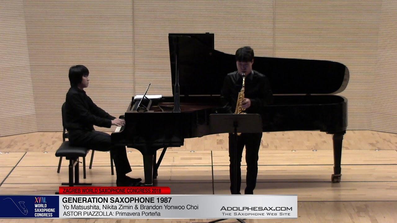 Chant du Menestrel Op71 by Alexander Glazounov - Brandon Jinwoo Choi  -WSC2018 #adolphesax