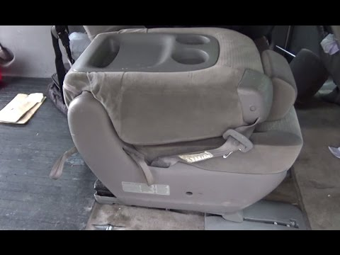toyota sienna middle seat