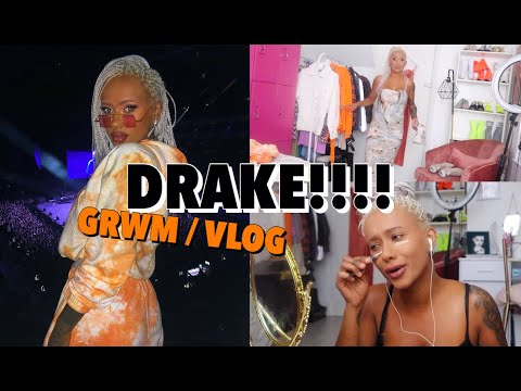 GRWM Before I see DRAKE!!!!!! | VLOG