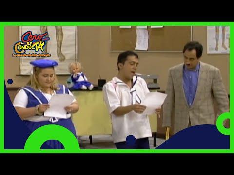 Jorge del Mazo Geis hace enojar al director de la escuela | Cero en conducta | Distrito Comedia