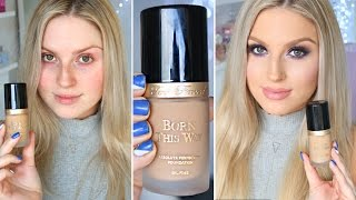 First Impression Review ♡ Too Faced Born This Way Foundation
