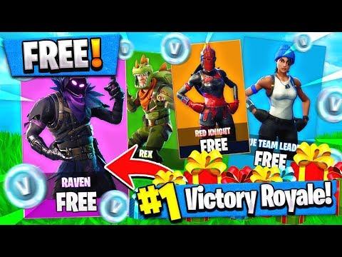 This UPDATE = ALL NEW SKINS for FREE + VBUCKS!! ( Fortnite Gift / Trade News )