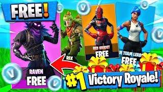 This UPDATE = ALL NEW SKINS for FREE + VBUCKS!! ( Fortnite Gift / Trade News )