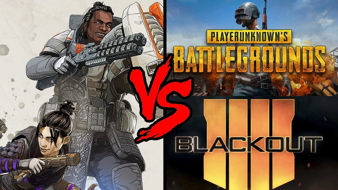Can Apex Legends Succeed Where PUBG & Blackout Failed?