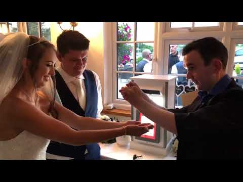 Fire and Ice Wedding Magician