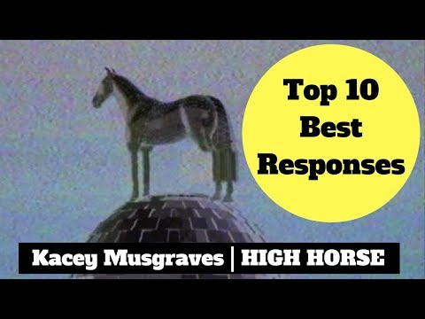 Kacey Musgraves | High Horse Official Lyric Video | TOP 10 BEST RESPONSES