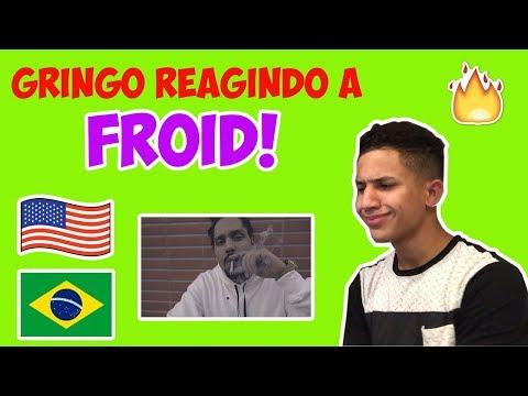 GRINGO AMERICANO REAGE A FROID PART. SANTU- AUTOESTIMA EM DÓ