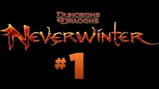 Neverwinter - #1 Character Creation, Drow Trickster Rogue (Open Beta Gameplay)