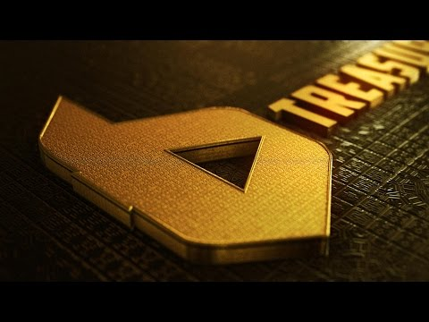 Golden Logo II Element 3D II After Effect CC 2017