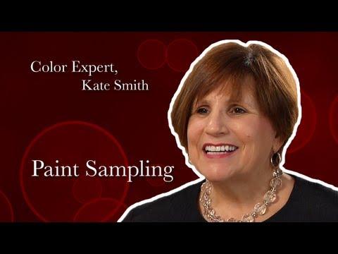 Expert Color Advice: Paint Sampling