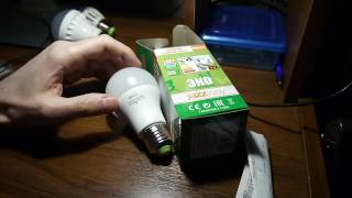 видео сравнение светодиодных ламп онлайт jazzway