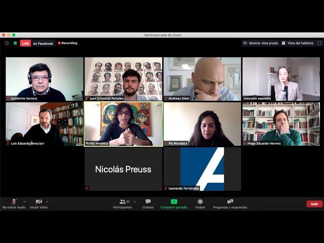Ciclo IDD/KAS Diálogos para un nuevo mundo: Cohesión social: Un desafió para la pos pandemia