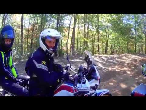 "Honda Africa Twin ""DIY"" custom brake lever install  ( Ft. Riding Mann)"