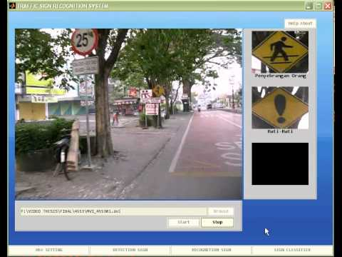 traffic sign recognition thesis Ivvi: intelligent vehicle based on visual  and traffic sign recognition  vision and he is currently working in the phd thesis in driver's.