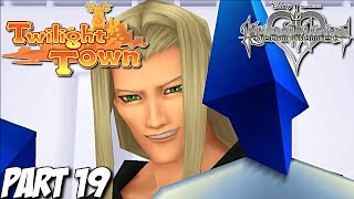 Kingdom Hearts Re: Chain of Memories Gameplay Walkthrough Part 19 - Twilight Town - PS3