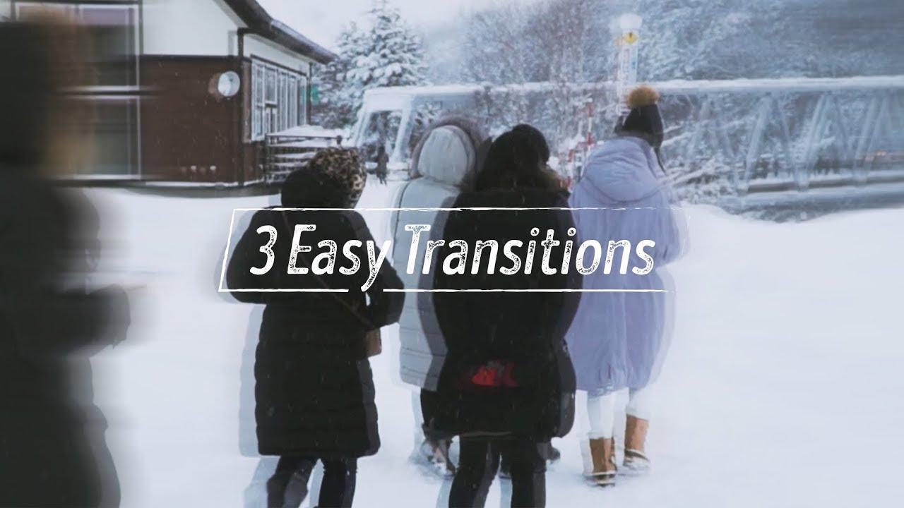 Hướng dẫn 3 chuyển cảnh đơn giản, hiệu quả // Adobe Premiere CC