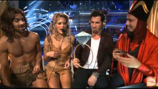 maks peta and nyle on dwts all access with dominic season 22 week 4