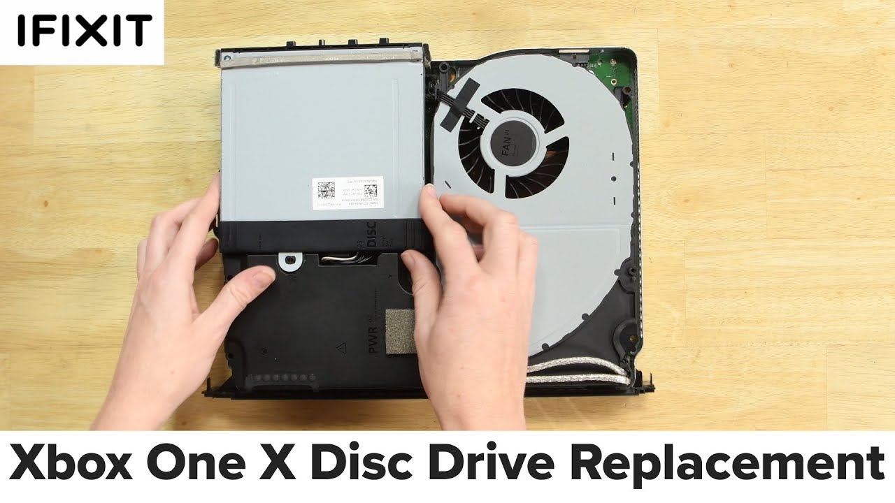 Xbox One X Disc Drive Replacement—How To